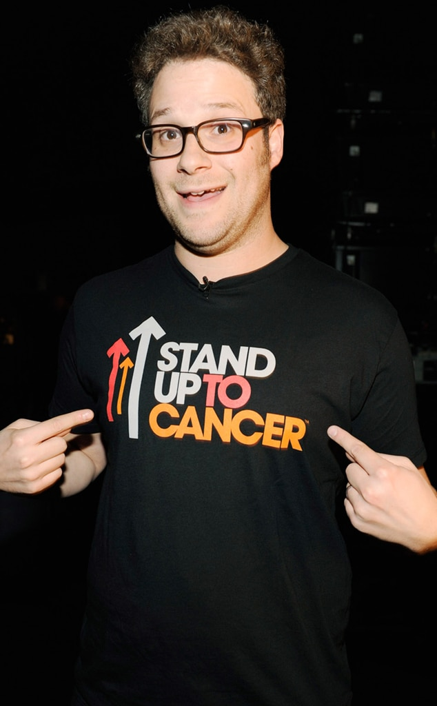 Seth Rogen, Stand Up to Cancer
