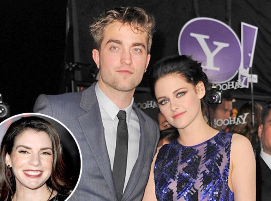 Robert Pattinson, Kristen Stewart, Stephenie Meyer