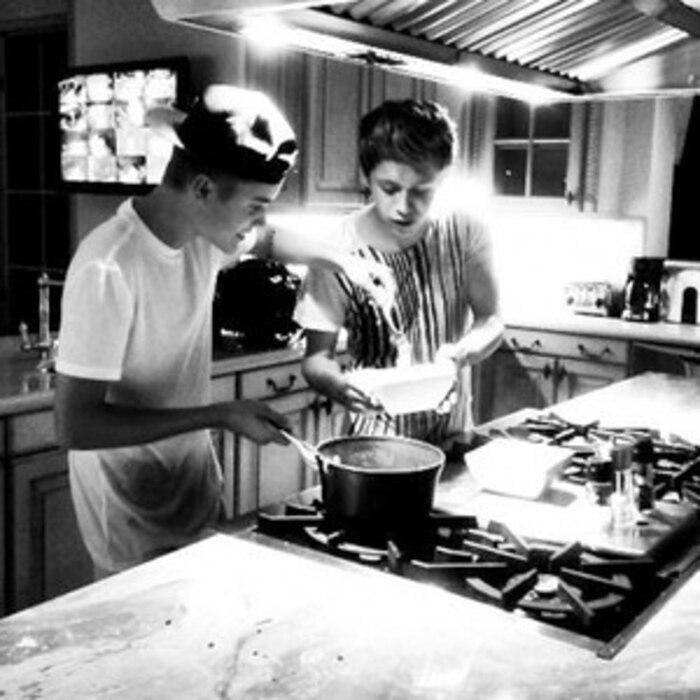 Justin Bieber, Twit Pic
