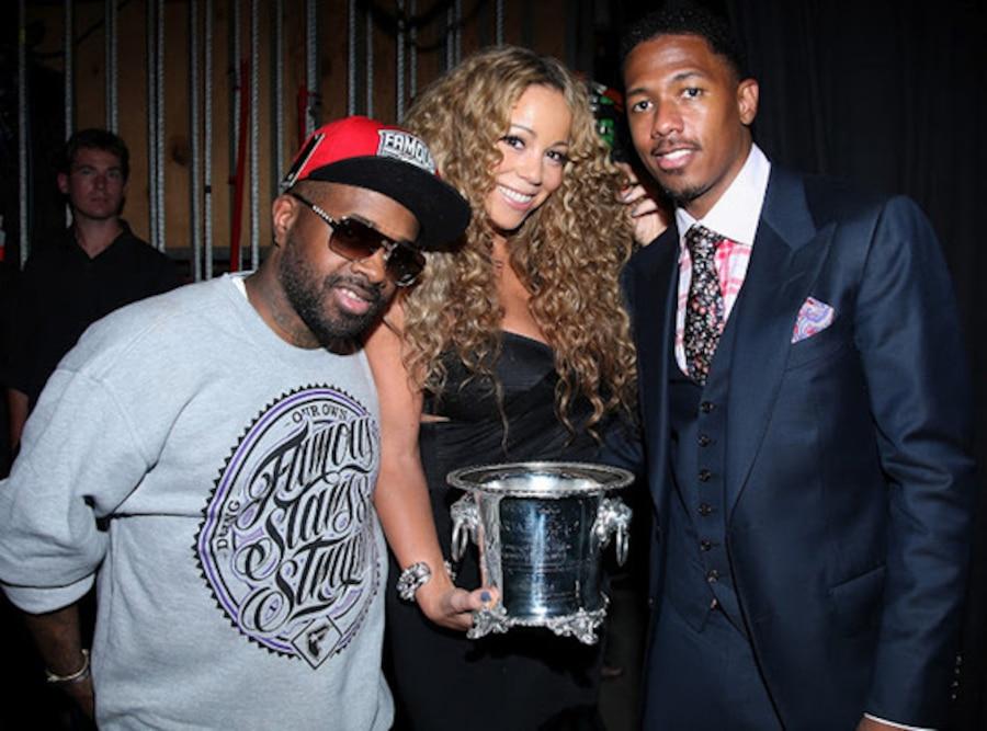 Mariah Carey, Nick Cannon, Jermaine Dupri