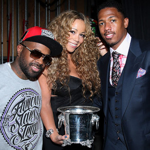 Mariah Carey, Nick Cannon, Jermaine Dupri