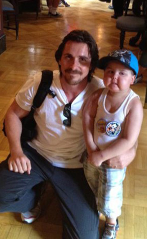 Jayden Barber, Christian Bale