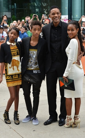 Willow Smith, Jaden Smith, Will Smith, Jada Pinkett Smith