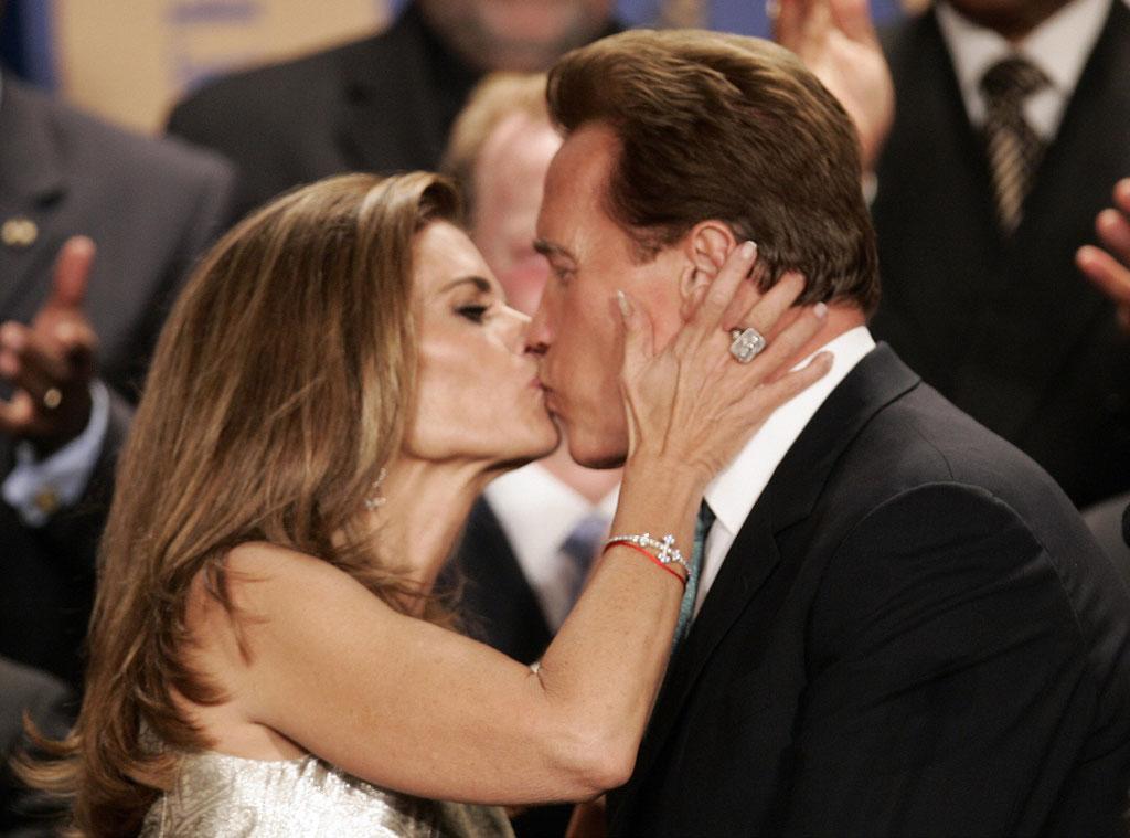 Maria Shriver, Arnold Schwarzenegger