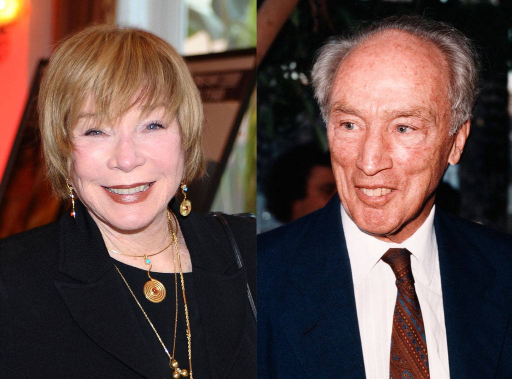 Shirley MacLaine, Canadian Prime Minister Pierre Trudeau