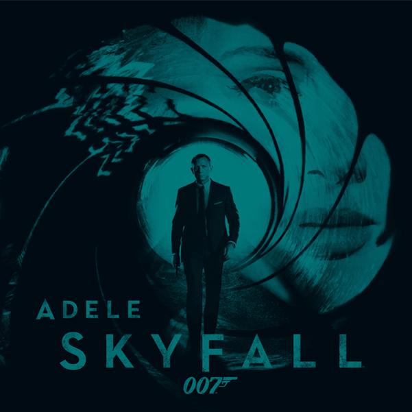 Skyfall Poster, Adele, Daniel Craig