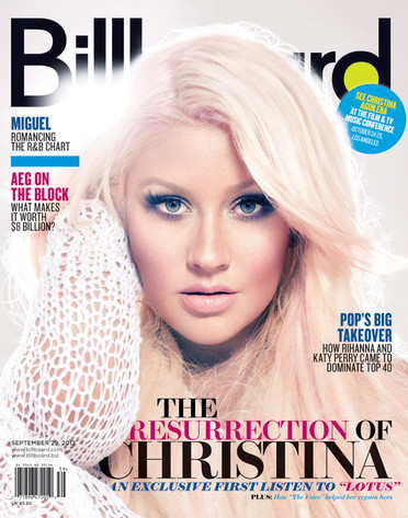 Christina Aguilera, Billboard Magazine