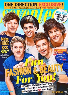 One Direction, Seventeen Magazine
