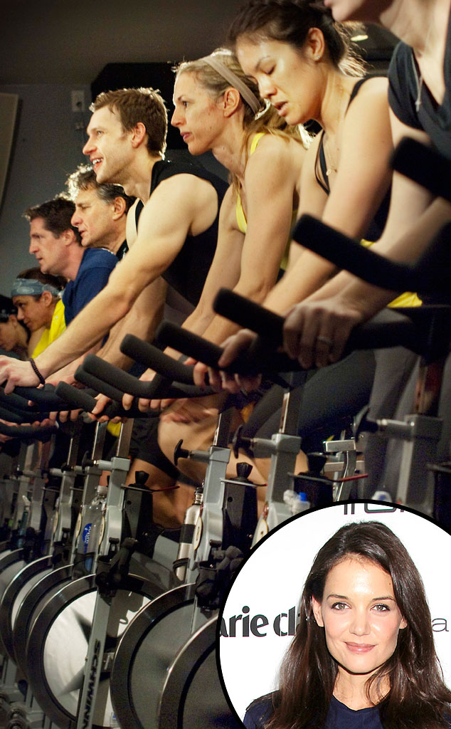 Soul Cycle, Katie Holmes