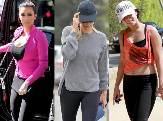 Kim Kardashian, Charlize Theron, Vanessa Hudgens