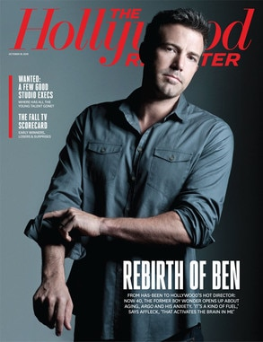 Ben Affleck, The Hollywood Reporter