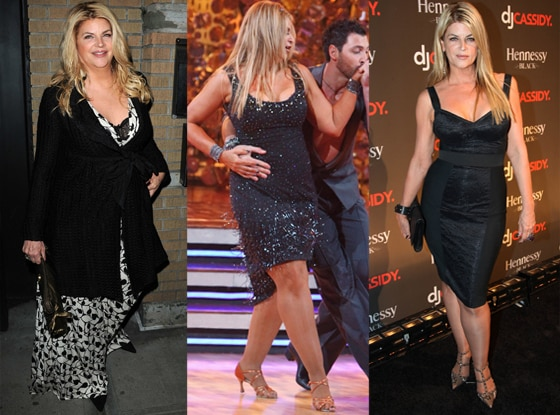 Kirstie Alley, March 2010, spring 2011, summer 2001