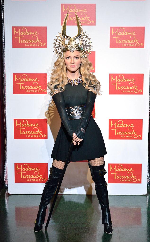 Madonna, Wax Figure