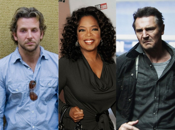 Liam Neeson,Taken 2, Oprah Winfrey, Bradley Cooper, Hangover