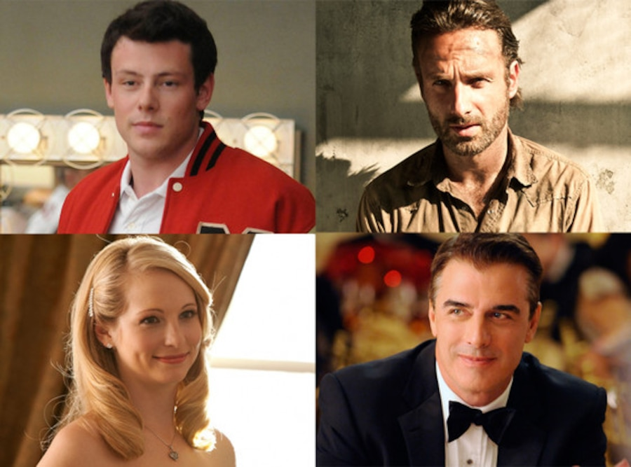 Spolier Chat, Chris Noth, The Good Wife Candica Accola, The Vampire Diaries Cory Monteith, Glee Andrew Lincoln, The Walking Dead