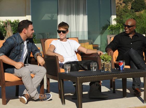 L.A. Reid, Justin Bieber, Scooter Braun, X Factor