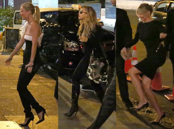 Gwyneth Paltrow, Beyonce Cameron Diaz