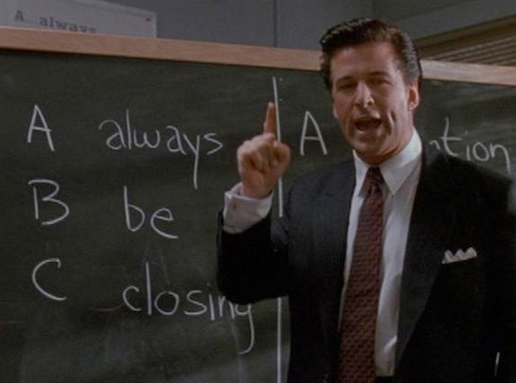 Alec Baldwin, Glengarry Glen Ross
