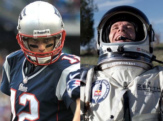 Felix Baumgartner, Tom Brady