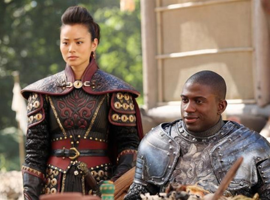 JAMIE CHUNG, SINQUA WALLS, Once Upon a Time