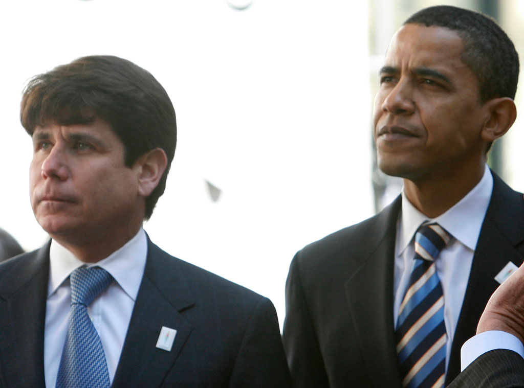 Political Scandals, Rod Blagojevich, Barack Obama