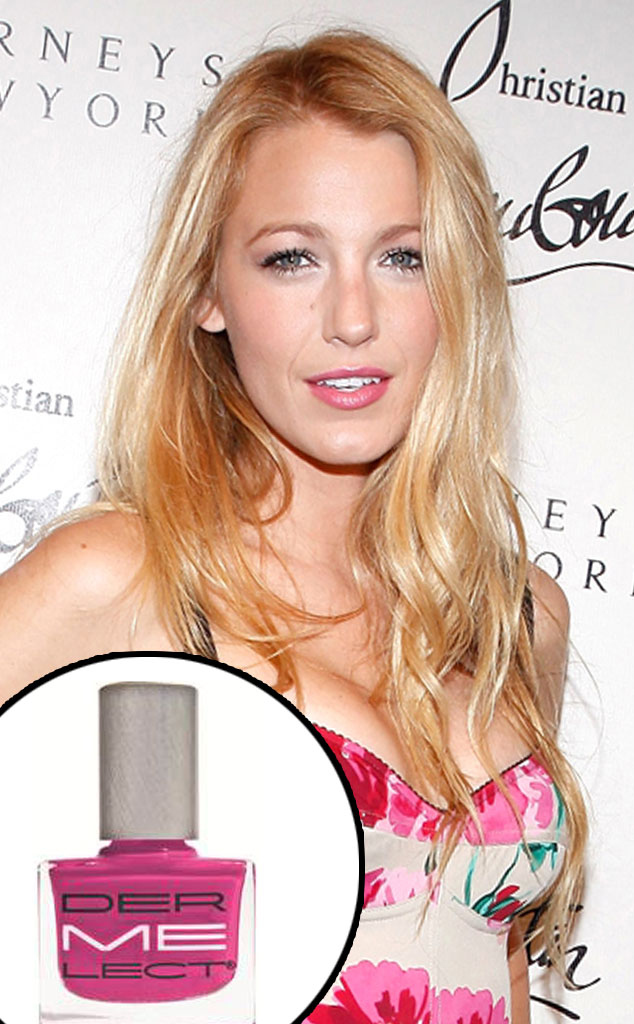 Dermelect Nail Polish, Blake Lively