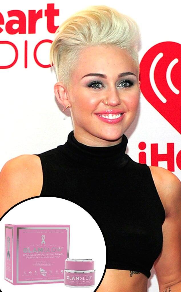 GlamGlow Mask, Miley Cyrus
