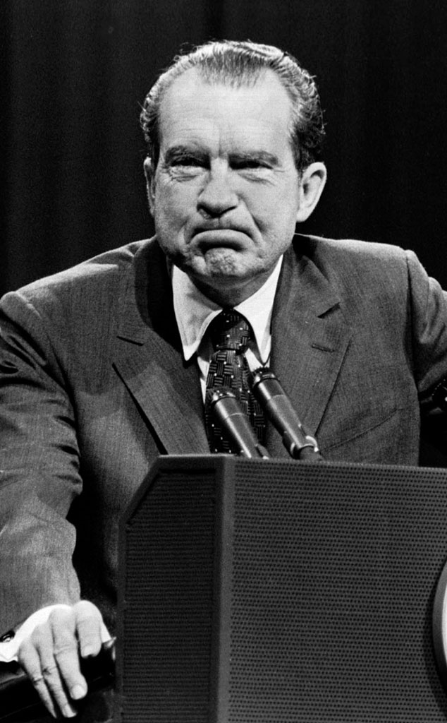 Political Scandals, Richard Nixon, resigning