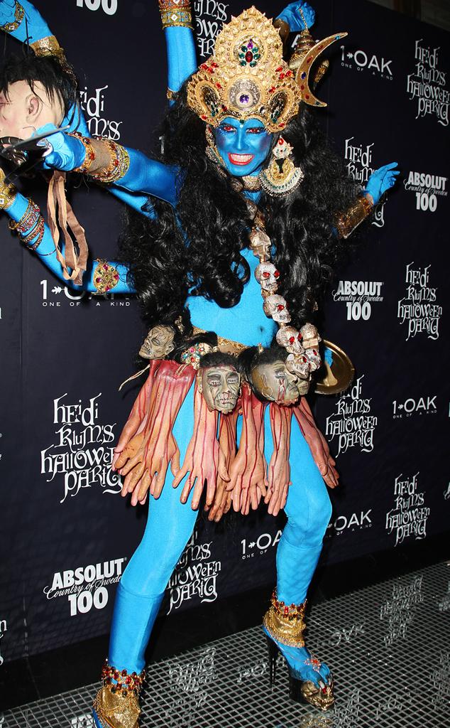 Heidi Klum, Controversial Halloween Costumes