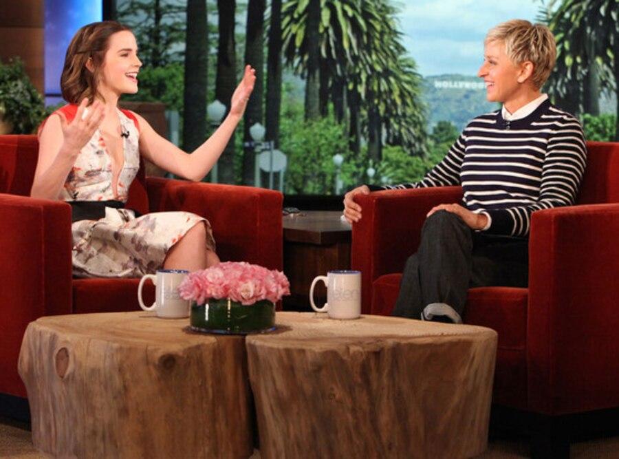 Ellen Degeneres, Emma Watson