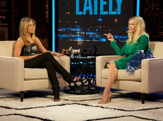Jennifer Aniston, Chelsea Handler, Chelsea Lately