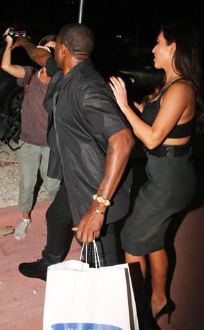 Kanye West, Kim Kardashian