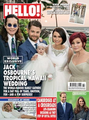 Jack Osbourne, Hello! Magazine