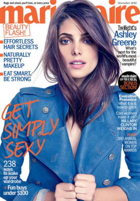 Ashley Greene, Marie Claire