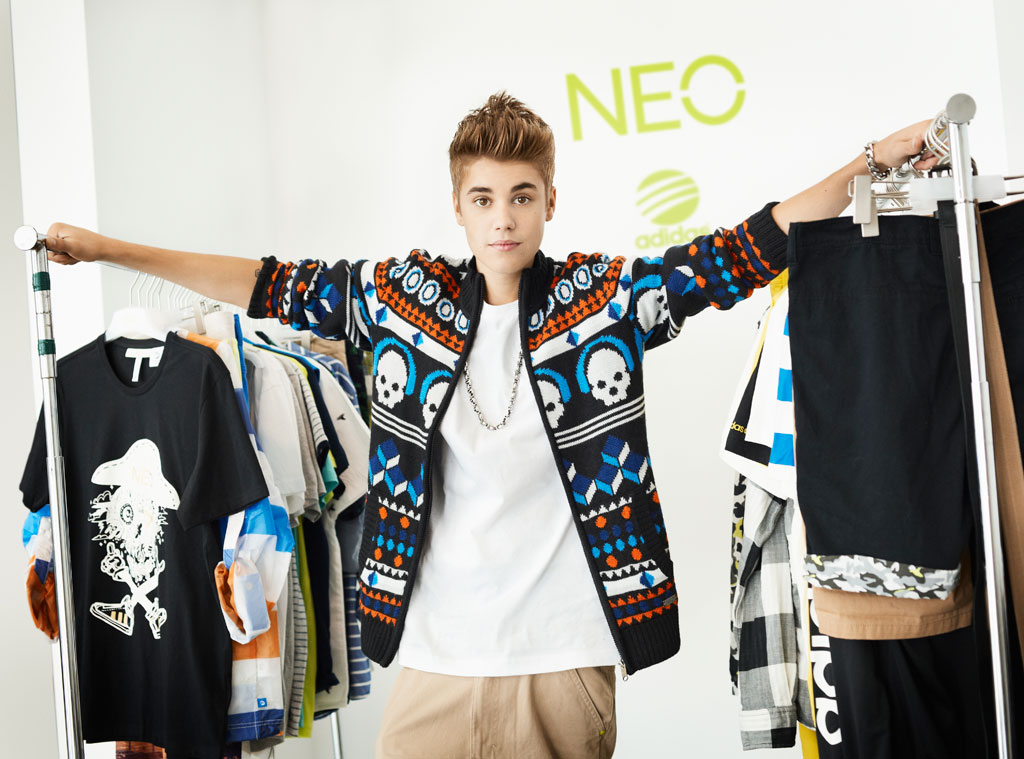 Justin Bieber, Adidas NEO label