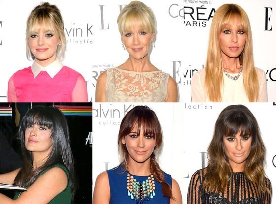 Rachel Zoe, Rashida Jones, Emma Stone, Jennie Garth, Lea Michele, Salma Hayek