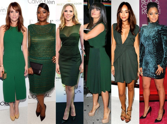 Kristen Wiig, Octavia Spencer, Scarlett Johansson, Salma Hayek, Ashley Madekwe, La La Anthony