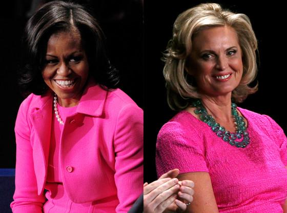 Michelle Obama, Ann Romney