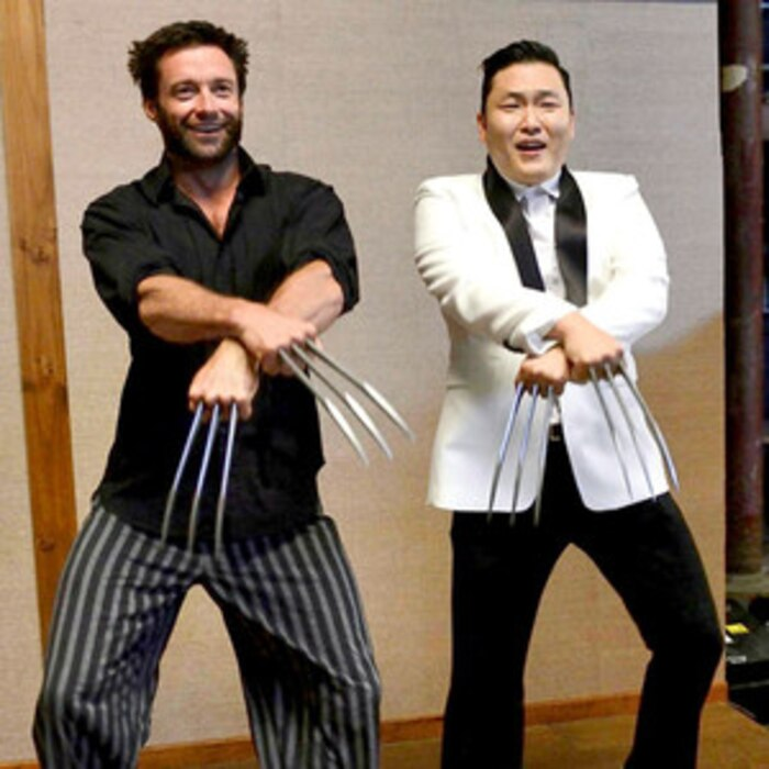 Hugh Jackman, Psy, Twitter