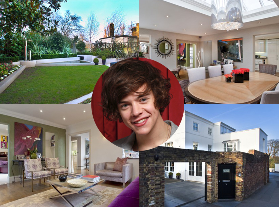 Harry Styles home