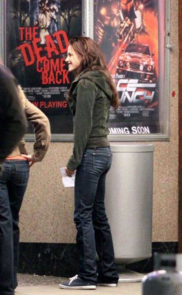Kristen Stewart, New Moon set