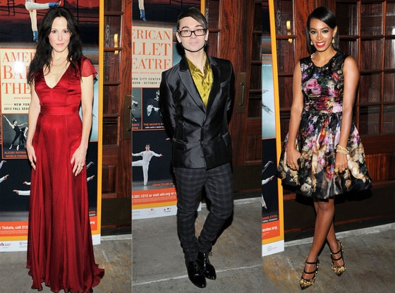 Mary Louise Parker, Solange Knowles, Christian Sirano