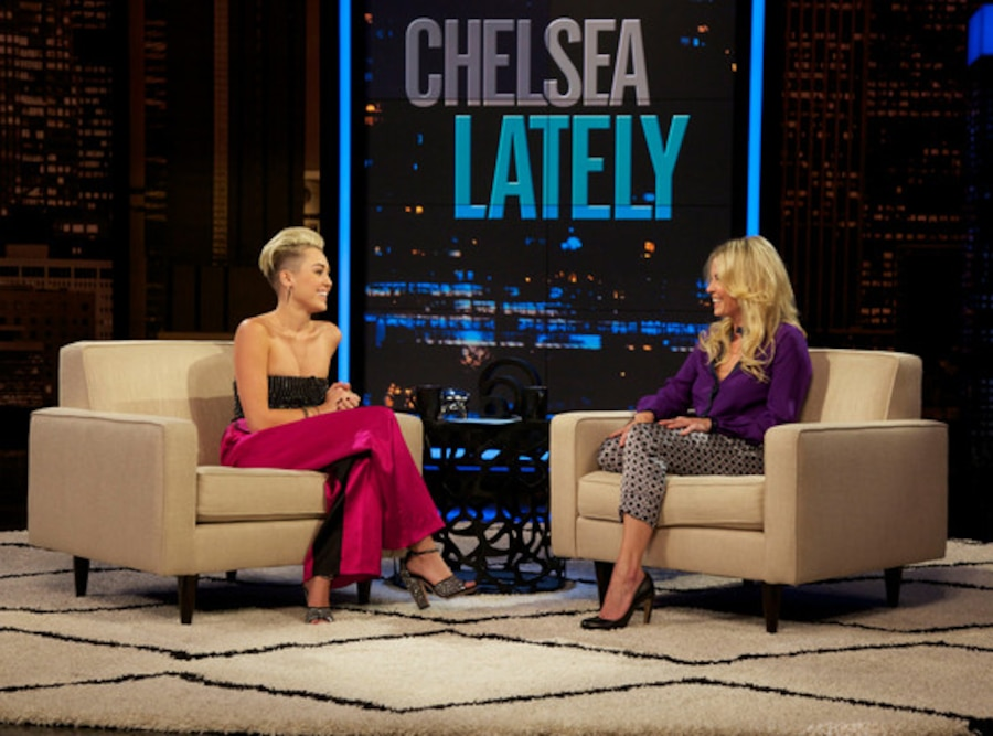 Miley Cyrus, Chelsea Lately
