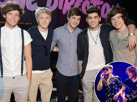 One Direction, Van Halen