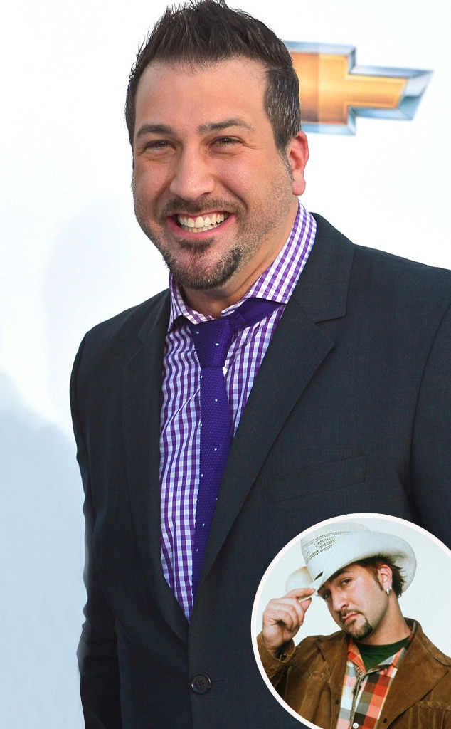 Joey Fatone, Then and Now