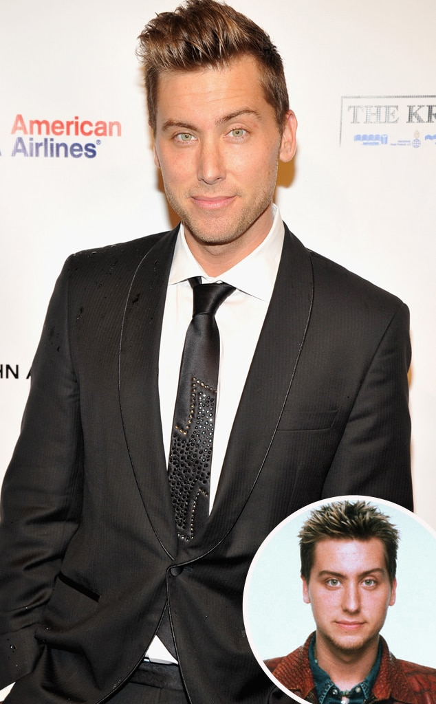 Lance Bass, Then and Now