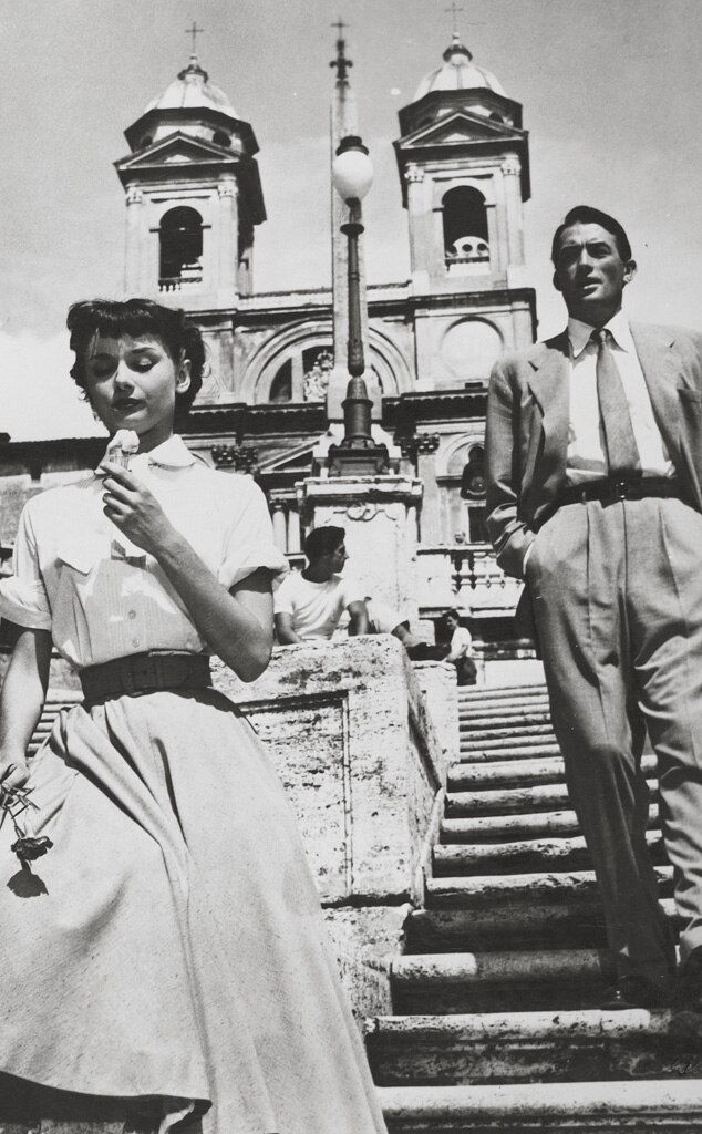 Audrey Hepburn, Gregory Peck, Roman Holiday