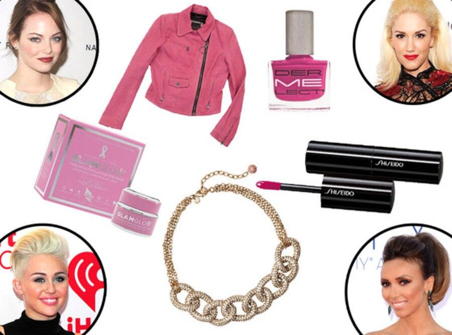 GlamGlow, Dermelect polish, LOFT necklace, Kelly Wearstler jacket