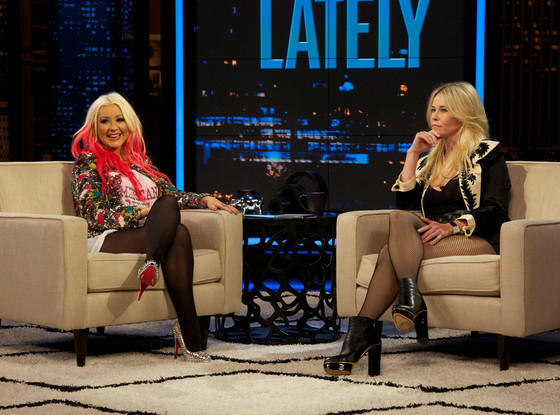 Christina Aguilera, Chelsea Handler, Chelsea Lately
