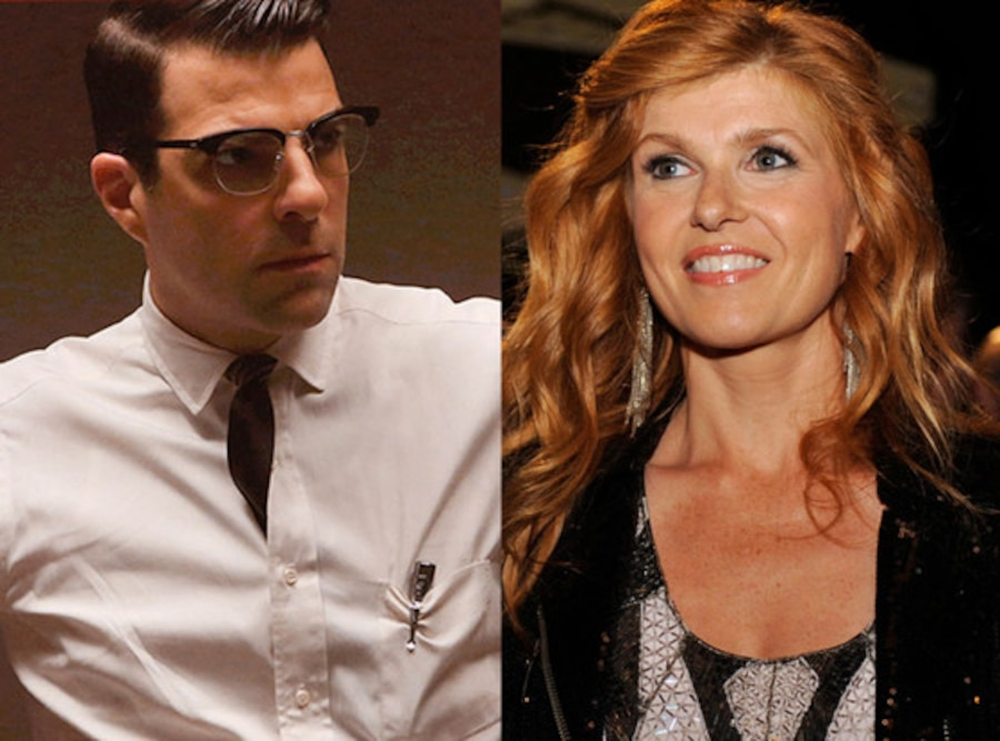 Zachary Quinto, American Horror Story, Connie Britton, Nashville